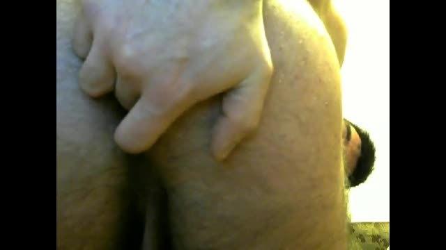 European Model Donald Fingers His Ass