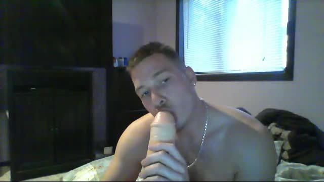 Party Chat: Nolan Sucks a Big Dildo