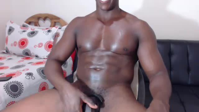 Group Chat: Latino Model Jerks Massive Dick.