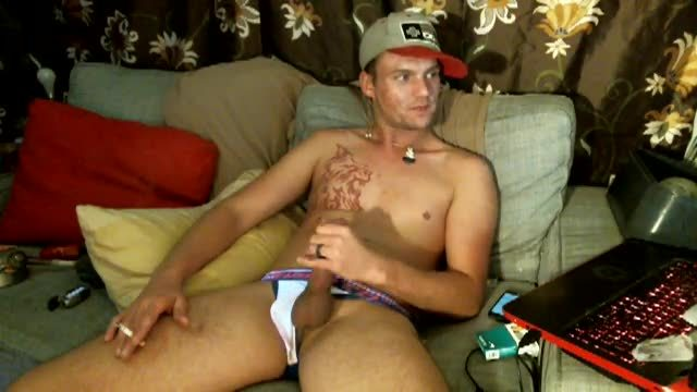 Chad Coxx Jerks His Monster Cock