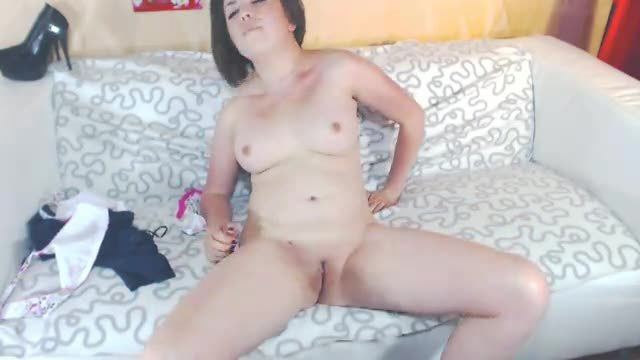 Cherry Stripping and Rubbing Pussy to Music