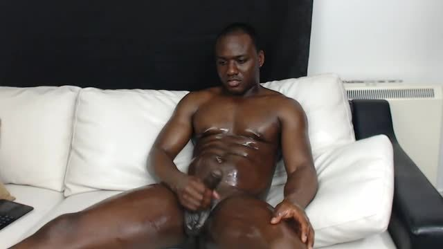 Group Chat: Watch Me Oil That Big Black Cock in Front Your Very Eyes !!!