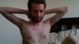 Twink Model, Joe Webcam Shows Off His Biceps