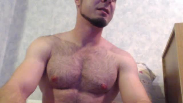 Hairy Hunk Meat Webcam Show