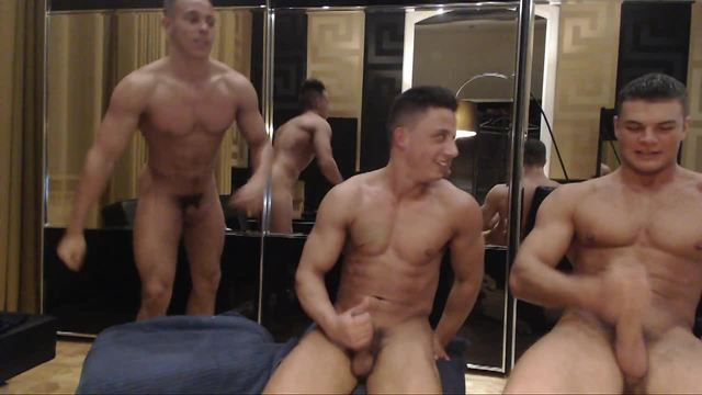 European Three Way Jack Webcam Show