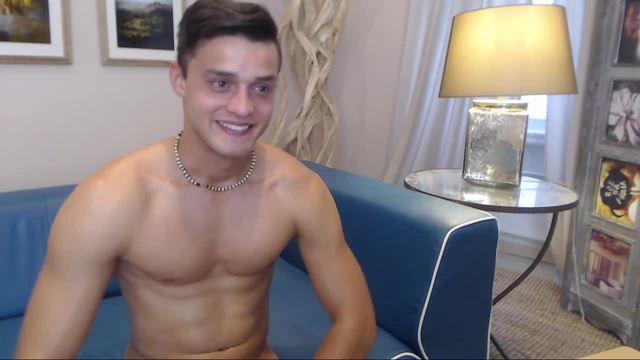 European Model Andre Plays with His Dick