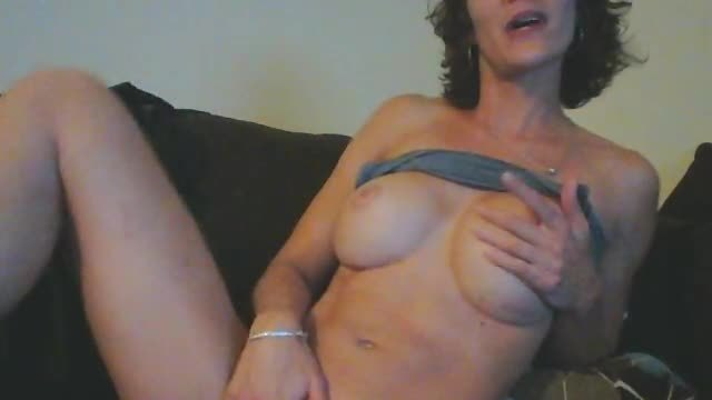 Brunette, Boobs, Pussy, Strip and Masturbation