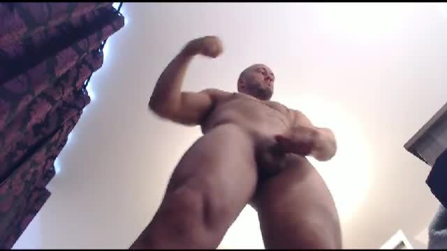 European Model Adonis Lifts Bed and Plays with His Dick