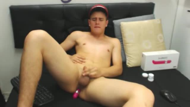 Bhill Fucks Himself with a Dildo