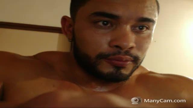 Latino Davis Plays with His Dick