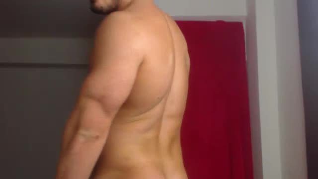 Master Edan Webcam Showing Muscle Ass