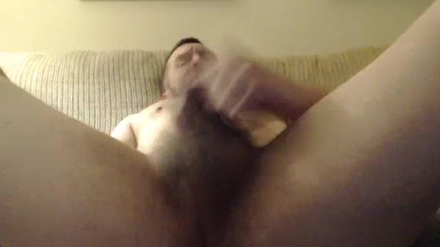 Jonathon Lauder Masturbating on Bed
