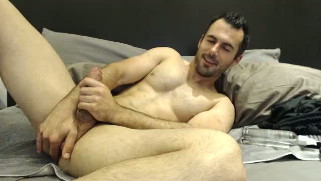 American Pornstar Jerks Dick