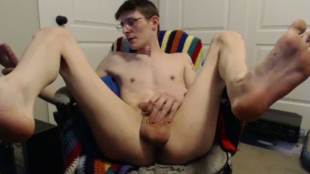 Ythan Webcam Shows His Guiche Piercing, Plays with Cock & Asshole, Dildo