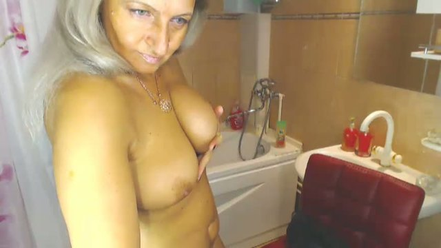 Very Muscular Mature Woman