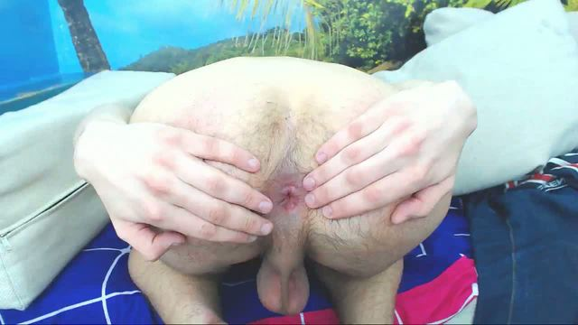 Twink Webcam Showing Off Hole