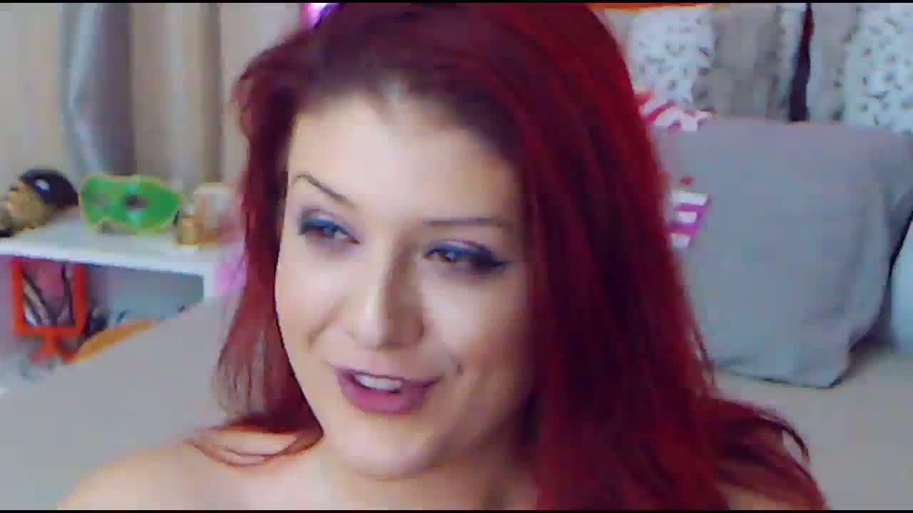 Naked big tit cum