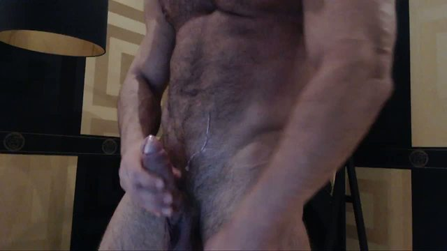 Group Chat: First load of the day-huge cum shot all over my hairy chest Hot milk, lots of jizz Hot ass Webcam Show too