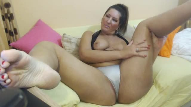 Sexy Panty and Foot Webcam Show