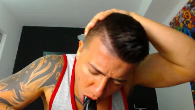 Santi Tatto Private Webcam Show - Part 2