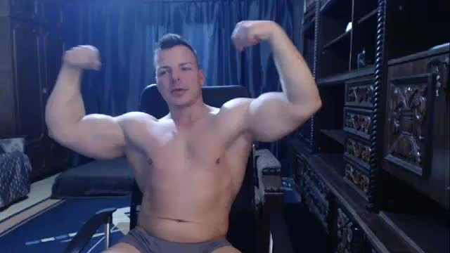 Gabriel Dominus Hot Muscle Webcam Show