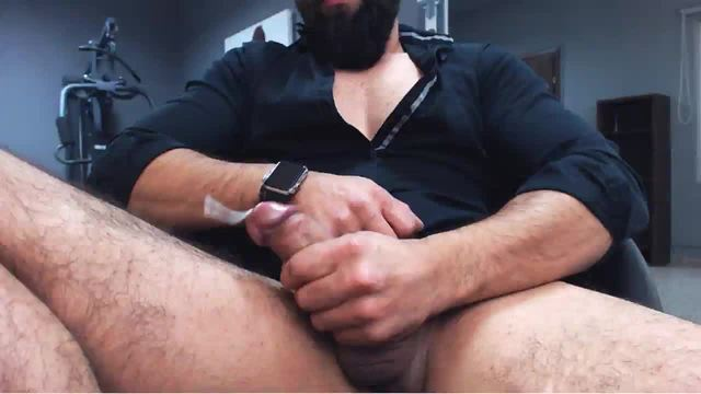 Group Chat: Hairy and Big Dick Model Cum Shot Webcam Show
