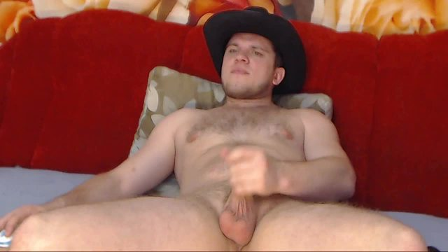 Kevin Top with Cowboy Hat