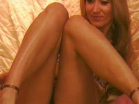 Teased with Fit Tanned Oiled Up Legs