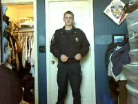 Kameron's A Naughty Policeman!