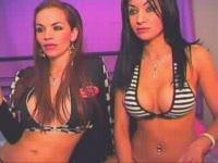 Janessa & Sylvie Private Show