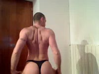 Striptease: Black & WhiteThong