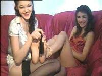 Very ticklish girls