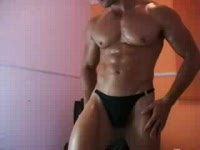 Muscle / Thong / Oil and Nippelclamps