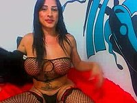 Huge Ass Latina Trans Dildo Webcam Show
