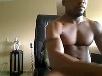 Sexy Cazin Jerks Off His Massive Meat & Cums!