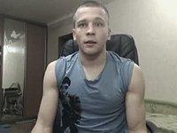 European Model Yura Webcam Shows Off His Body