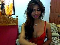 Hot Asian Trans Strips