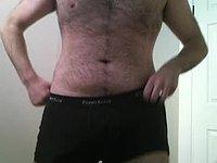 strip jerk ass hairy