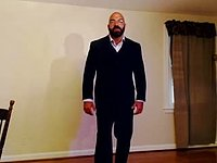 Muscle Bear in Business Suit