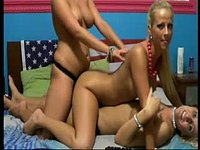Three Girls with Strap Ons