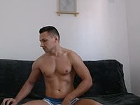 Jakal Strokes His Huge Dick