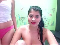 Two Hot Latinas Lesbian Webcam Show