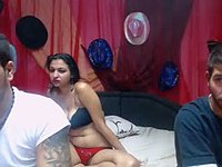 Squirting Erika & Donny Sex Private Webcam Show