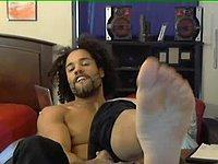 Mickals Foot Webcam Show