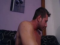 Tymous Jerking Off and Webcam Shows Off His Ass