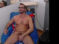 let s jerk together ... hot 8 inches cock .... ass dildo