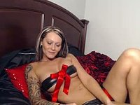 Angel Parker Big Purple Dildo, Vibrator