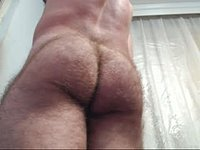 Hairy European Model Jerks Off