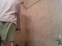 well ill strip, jump into the shower, jackoff, show different angles who knows!