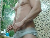 Clauss Webcam Shows Off His Body